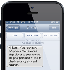 814 Media Mobile Marketing Loyalty Program